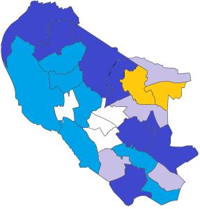 City Council Map - 2nd Place