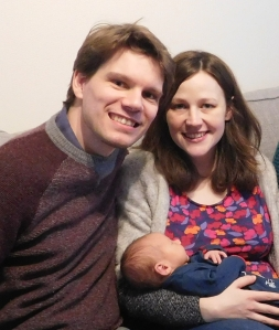 Daniel and Janine Stafford with Joshua
